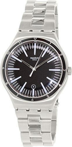 Swatch Mire Noire Mens Watch YWS411G