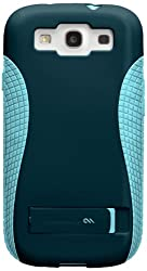 Case-Mate Pop CM021162 Case with Stand for Samsung Galaxy S3 (Navy-Aqua)