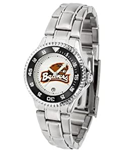 Oregon State Beavers Ladies Stainless Steel Watch by SunTime