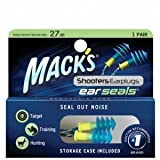 Mack's Ear Seals Ear Plugs with Detachable Cord - 1 Pair Box