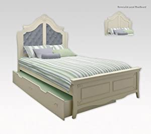 Princess Full Bed Wtrundle Pearl from Najarian Furniture Co.,Inc.