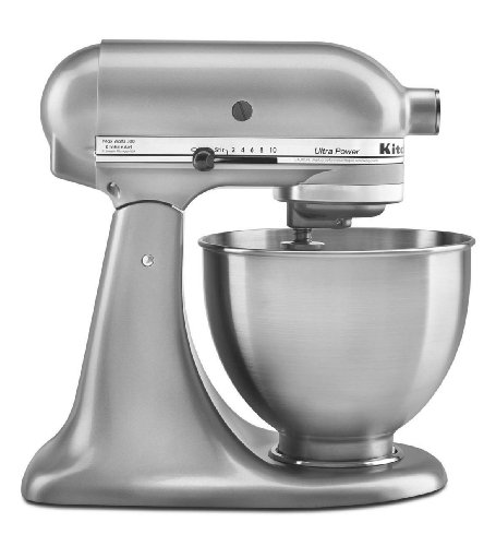 New Made USA Kitchenaid Ultra Power Ksm95cu 10speed Stand Mixer 4.5-quart Silver Gift for Your Family