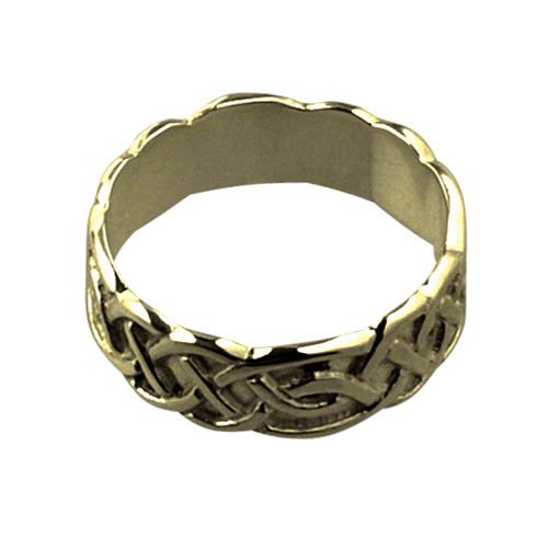 18ct Gold 6mm Celtic Wedding Ring sizes I to Q