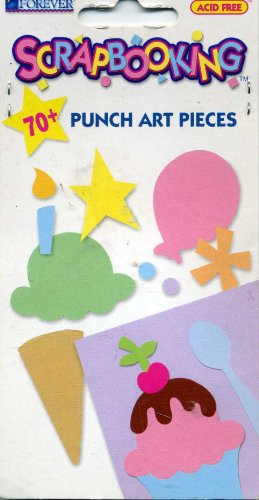 Memories Forever Scrapbooking 70+ Punch Art Pieces Birthday Acid Free