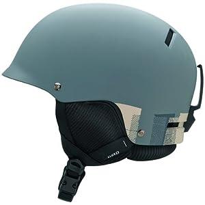 Giro Revolver 2009 Snow Helmet (Matte Primer Grey Thumbprint, Small)