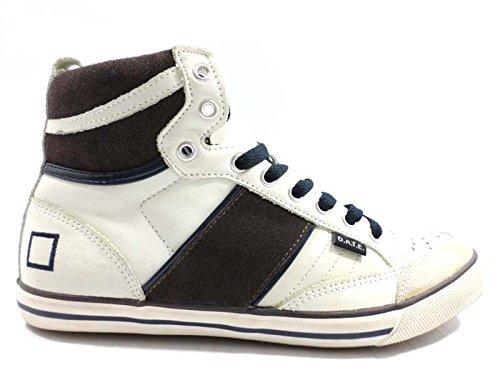 scarpe uomo D.A.T.E (Date) 40 EU sneakers alto marrone/panna/blu WH126