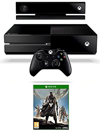 Xbox One Console with Kinect and Destiny