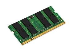 Kingston KTH-ZD8000C6/2G 2GB DDR2 SDRAM 800MHz 200-Pin SO-DIMM Memory Module