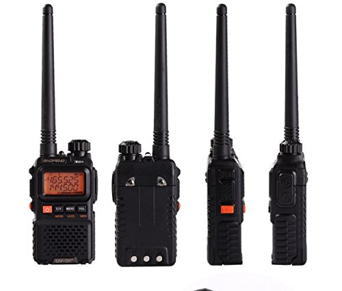 VOOTOO BaoFeng UV-3R 136-174/400-470 MHz Dual-Band Ham Radio