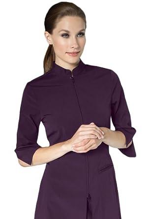 Noel asmar uniforms inc women 39 s spa uniforms urban fusion for Spa uniform amazon