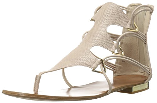 Aldo Women's Barbiana Gladiator Sandal, Bone, 8.5 B US