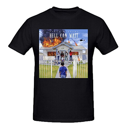 vince-staples-hell-can-wait-homme-graphic-tee-shirts-medium