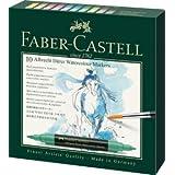 Faber-Castell Art/Graphic 160310 Watercolor Marker ST 10/PKG, 0 (Color: 0)