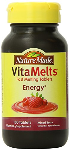 Nature Made Vitamelts Energy Tablets, Mixed Berry, 100 Count (Nature Made Vitamelts Energy compare prices)