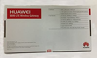 Huawei B890 4G LTE Wireless Gateway Mobile Router Smart Hub Unlocked - Support 32 users, 100 mbps (Made for Americas)