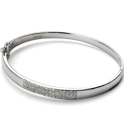 18k Womens white gold Diamond bracelet