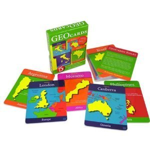 GeoCards World - Educational Geography Card Game