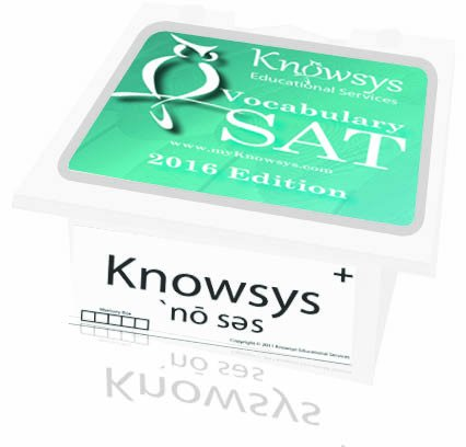 Knowsys 2016 SAT Vocabulary Flashcards PDF Download Free