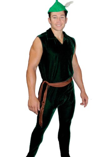 Elf Worker Costume - Adult, Sexy Men's Elf