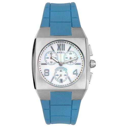 Breil Women's BW0085 Chronograph Blue Rubber Watch