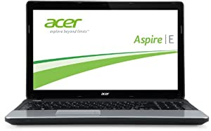 Acer Aspire E1-571G-33114G50Mnks 39,6 cm (15,6 Zoll) Notebook (Intel Core i3 3110M, 2,4GHz, 4GB RAM, 500GB HDD, NVIDIA GT 620M, DVD, Win 8) schwarz