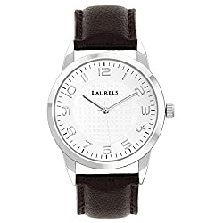 Laurels Aspire 3 Analog Silver Dial Mens Watch - Lo-Asp-301