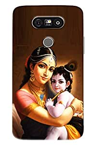 Omnam Lord Krishna With Yashoda Mayia Printed Back Cover Case For LG G5