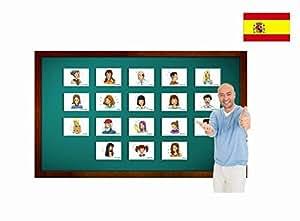 Amazon.com: Tarjetas de vocabulario - Describiendo personas - Spanish