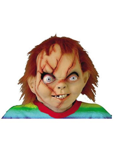 Scary-Masks Chucky Seed Of Latex Mask Halloween Costume - Most Adults