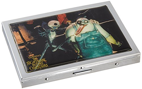 Neca Nightmare Before Christmas Jack and Behemoth inches  ID Case - 1