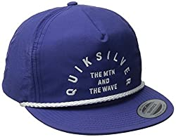 Quiksilver Men's Blister Snapback Hat, Federal Blue, One Size