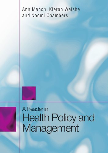 A Reader in Health Policy and Management