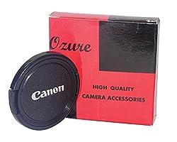 Ozure SELC-C 52 mm Lens Cap(Black + Silver Embossed, 52 mm)