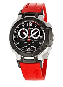 Brand NEW Tissot Watch T-race Red Chrono T048.417.27.057.01