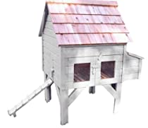Hot Sale White Chicken Coop GCCAH002 Alexandria Chicken House