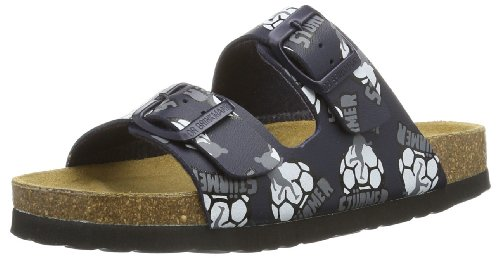Dr. Brinkmann Unisex - Child 500165 Clogs And Mules Blue Blau (blau 5) Size: 33