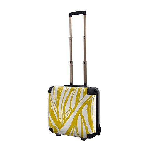 キャラート アートスーツケース ベーシック ソフィスティ(ライトゴールド) ジッパー2輪 機内持込 CRB01-035D