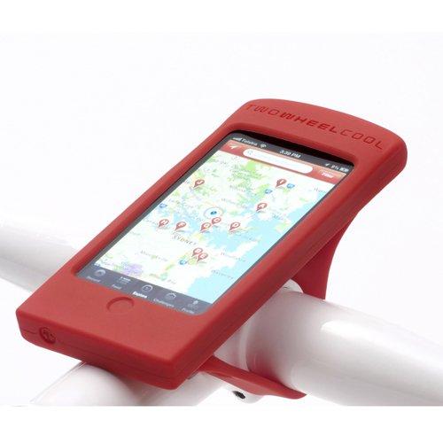 TWO WHEEL COOL/DASH PHONE MOUNT (トゥーホイールクール/ダッシュフォーンマウント)/ マットレッド