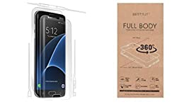 Best Suit 360 Degree Anti Shock Front Full Body Screen Guard Protector For Samsung Galaxy S6 edge Plus