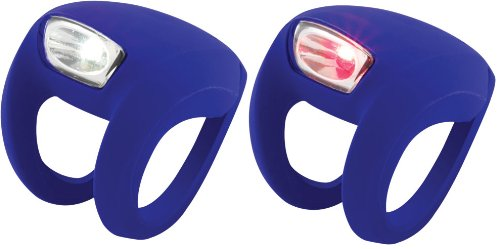 Knog Frog Strobe Twinpak - Headlight & Taillight combo Purple Bodies. BE SAFE - BE SEEN !