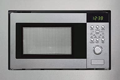 Silverline-mWG 610 e-four micro-ondes 800 w avec grill, acier inoxydable, 9 programmes