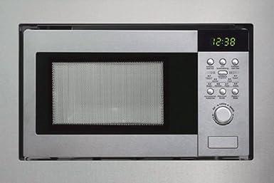 Silverline-mWG 610 e-four micro-ondes 800 w avec grill, acier inoxydable, 9 programmes