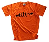 Shirtzshop Adults T- Shirt Original Diver Evolution Orange orange Size:XXXL