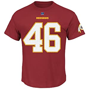 Alfred Morris Washington Redskins Eligible Receiver T-Shirt by Majestic by Majestic