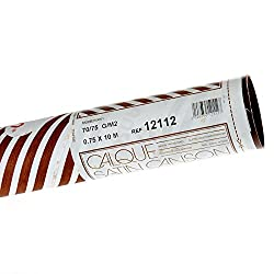 Canson Satin 0.75x10 m Translucent 70 GSM Tracing Paper Roll