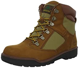 Timberland 6-Inch Leather and Fabric Field Boot (Toddler/Little Kid/Big Kid),Sundance,2 M US Little Kid