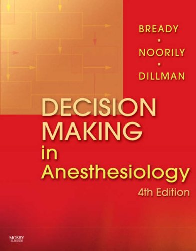 Decision Making in Anesthesiology, 4th Edition