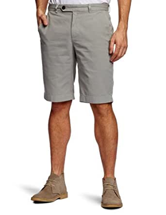 Brooks Brothers Garment Dyed Twill Men's Bermuda Shorts Grey W32 IN