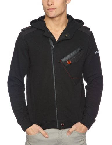Duck And Cover Lennox Men's Jumper Black XX-Large