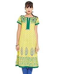 LOVELY LADY Ladies Cotton Solid KURTI - B00ZCBFFKC
